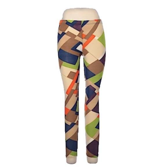 Funky multi color Leggings